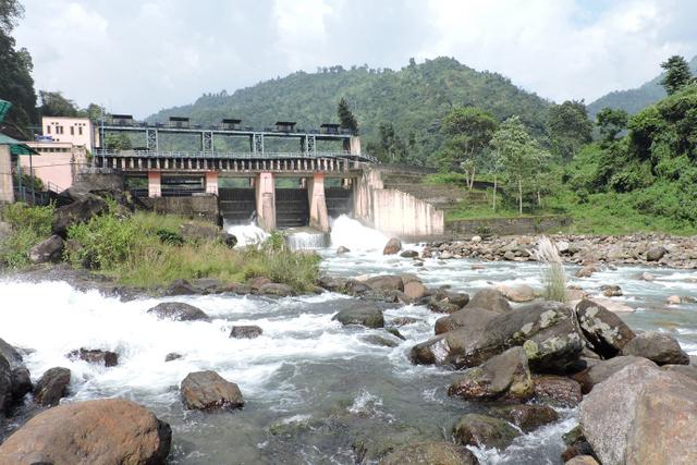 Dam at Bindu