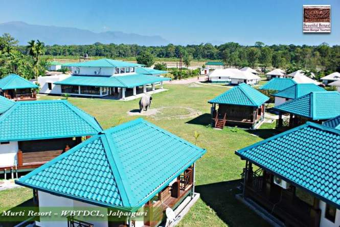 Murti Tourist Lodge (beside Murti River - Dooars)